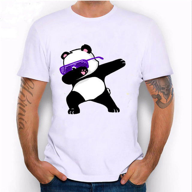 Dabbing Unicorn, Panda or Cat T- Shirts (4 Dabbing Designs)