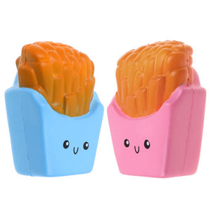 Kawaii French Fry Squishy