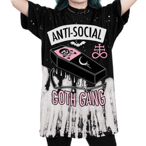 Anti-Social Tie Dyed T-Shirt
