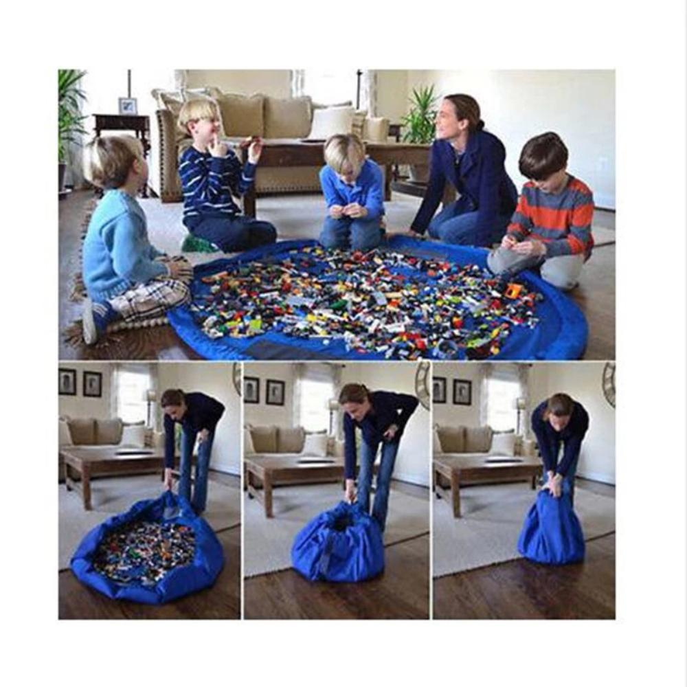 XL Giant Play Mat Storage Bag for Building Blocks Display