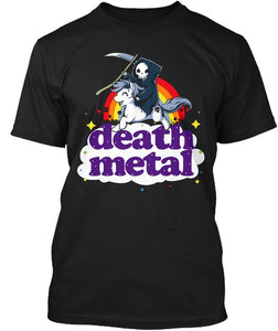Death Metal Reaper T-Shirt (9 Colors)