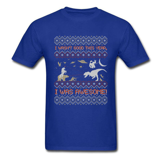 Epic X-Mas Ugly Sweater T-Shirt (10 Colors)