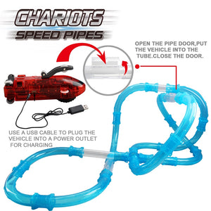 (Save $30+) Chariots Speed Pipes Anti Gravity RC Cars (27 or 72 Pieces)