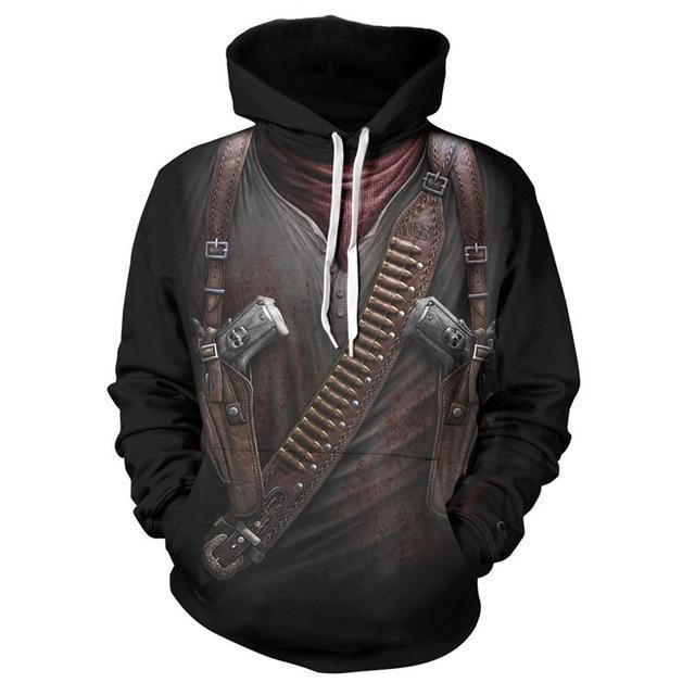 Outlaw Pull Over Hoodie