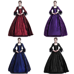 Victorian Dress Style 2 (4 Variants)