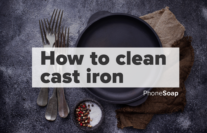How to Properly Clean Cast Iron
