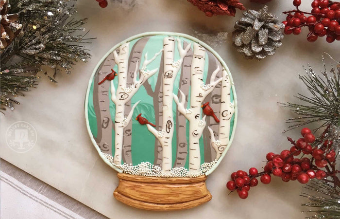 Holiday Cookie Decorating Tutorial by Dulcet Cake Co.