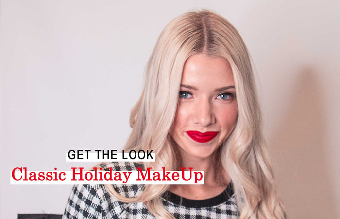 Classic Holiday Makeup Tutorial