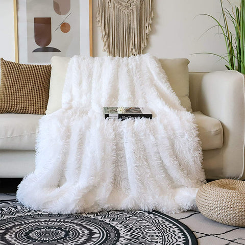 Fluffy Blanket on a couch