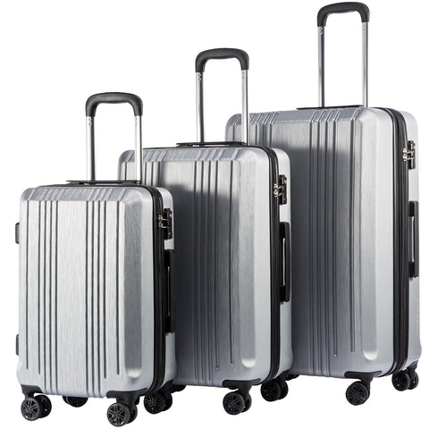 Hard case, 4-wheel luggage set