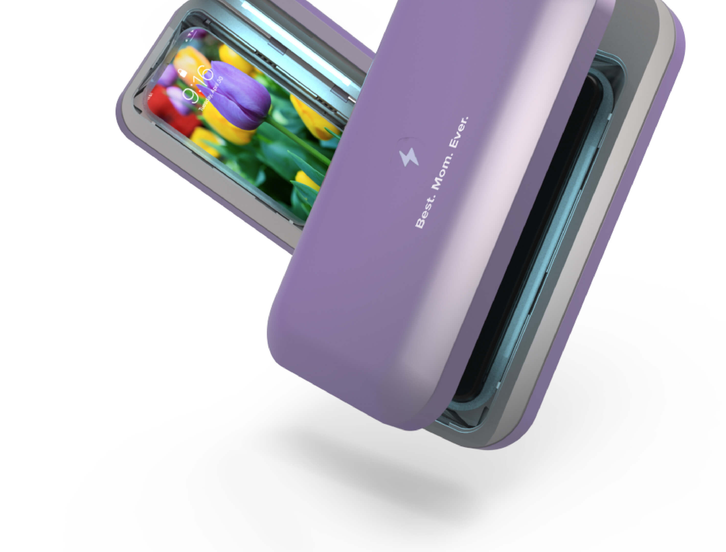 Lilac PhoneSoap 3