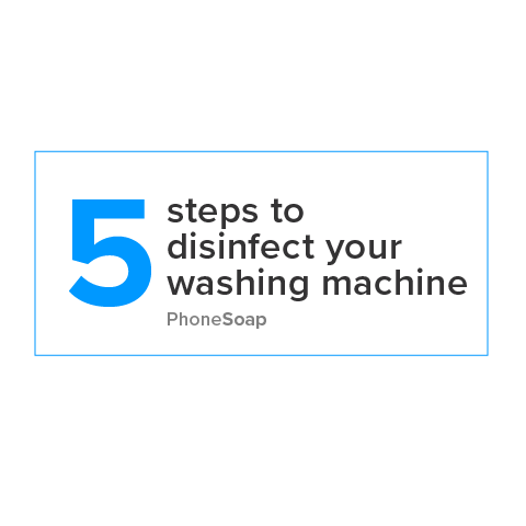 5 Steps to Disinfect Your Washing Machine