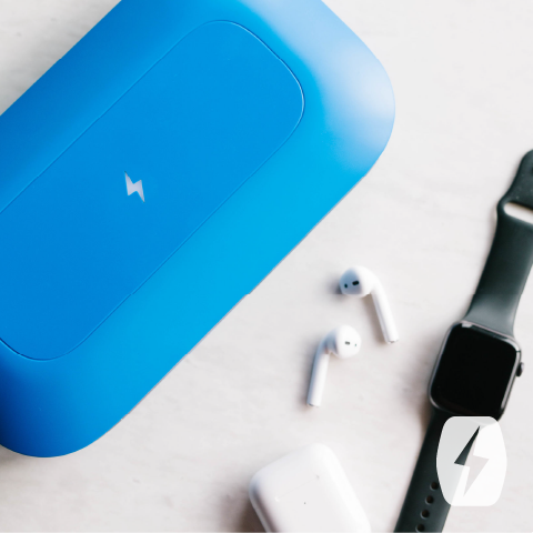 PhoneSoap sanitizing jewelry, watches, earphones, and more