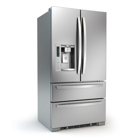 Stainless-steel refrigerator