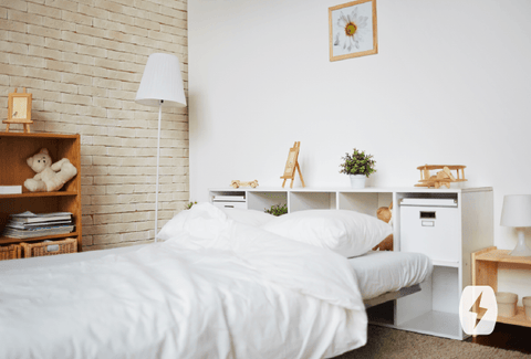 Bedrooms breed dust, pollutants, and allergens