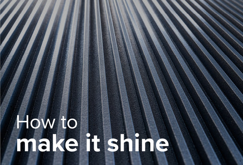 How to make stainless steel shine