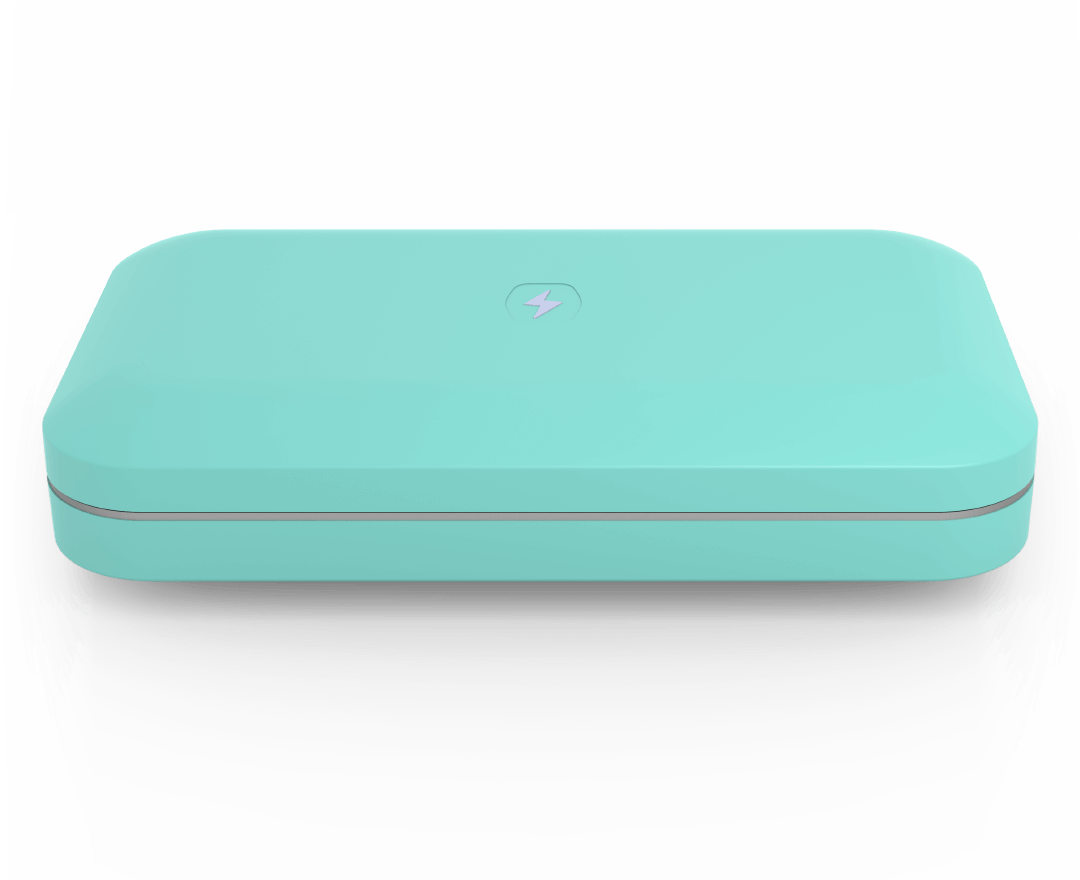 Phonesoap Custom Aqua