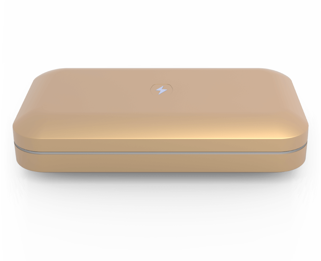 Phonesoap Custom Gold