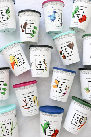 Daily Harvest frozen meals in cups