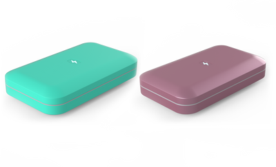 PhoneSoap 3: 2-Pack Pink and Aqua