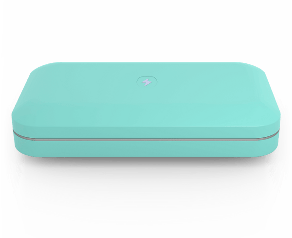 PhoneSoap 3 with Custom Design (Aqua)