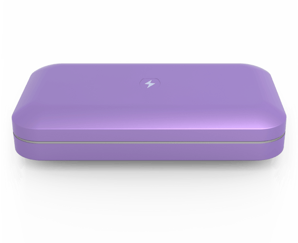 PhoneSoap 3 with Custom Design (Lilac)