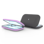 PhoneSoap Pro 2-Pack Lavender and Black
