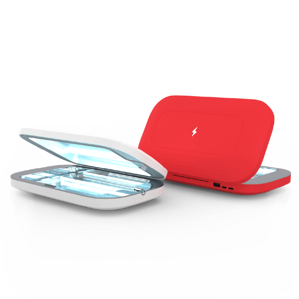 PhoneSoap Pro 2-Pack Red and White