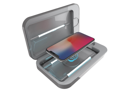 PhoneSoap Wireless with Custom Design (Gunmetal)