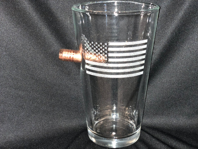 "Patriotic Flag  ""Bulletproof"" Glass"