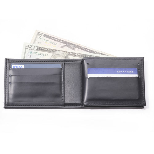 Perfect Fit Bi fold Wallet with Credit Card Slots and ID Window