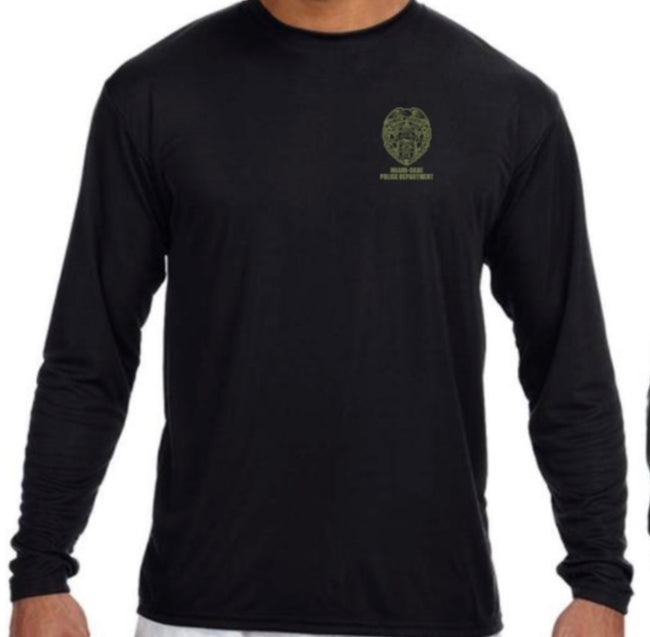 LEO Miami Dade Police Dept. Police Performance Long Sleeve (Black)