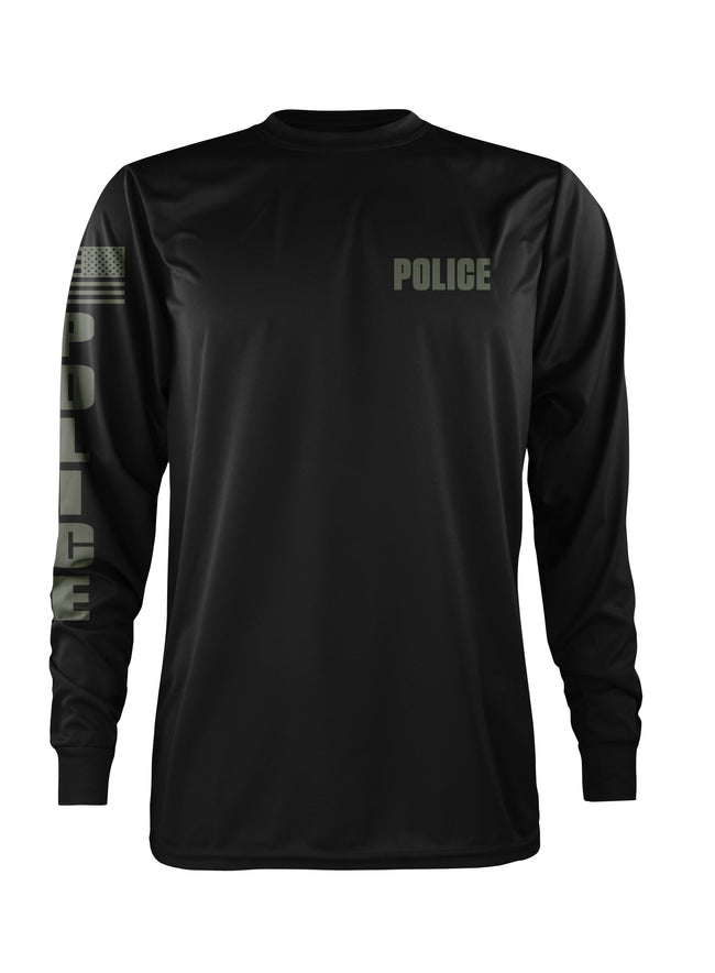 LEO Police Performance Long Sleeve (BLACK)