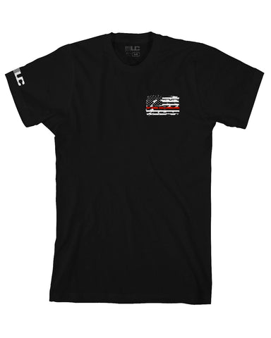 Fire Rescue Tee (BLACK)
