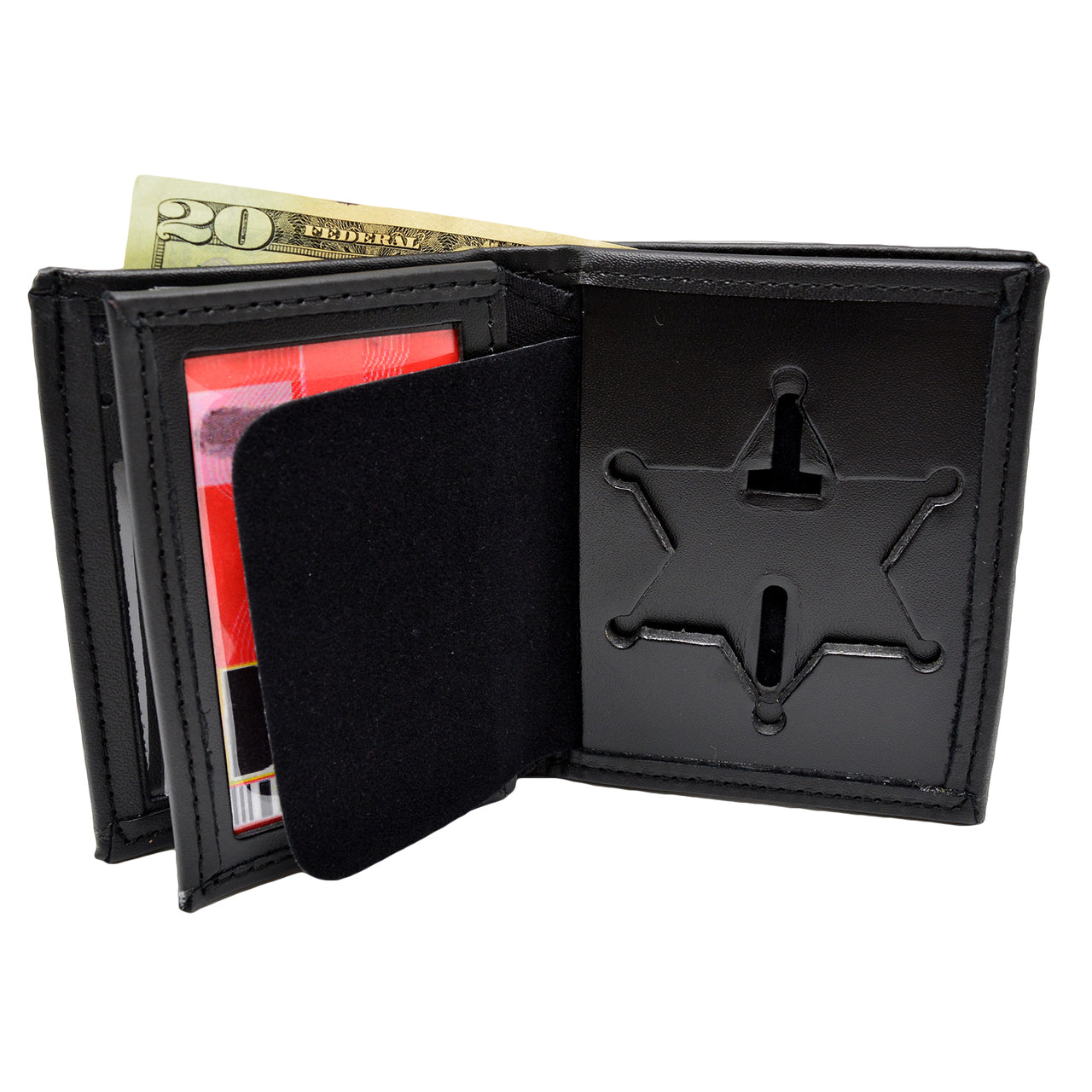 Perfect Fit Bi fold Wallet with Credit Card Slots and ID Window (BSO)