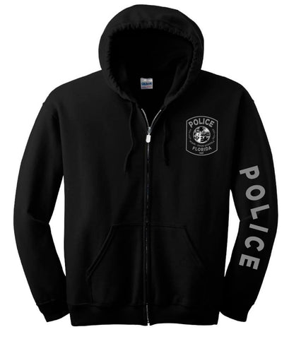 Miami Dade Police Department Zip Up Hoodie
