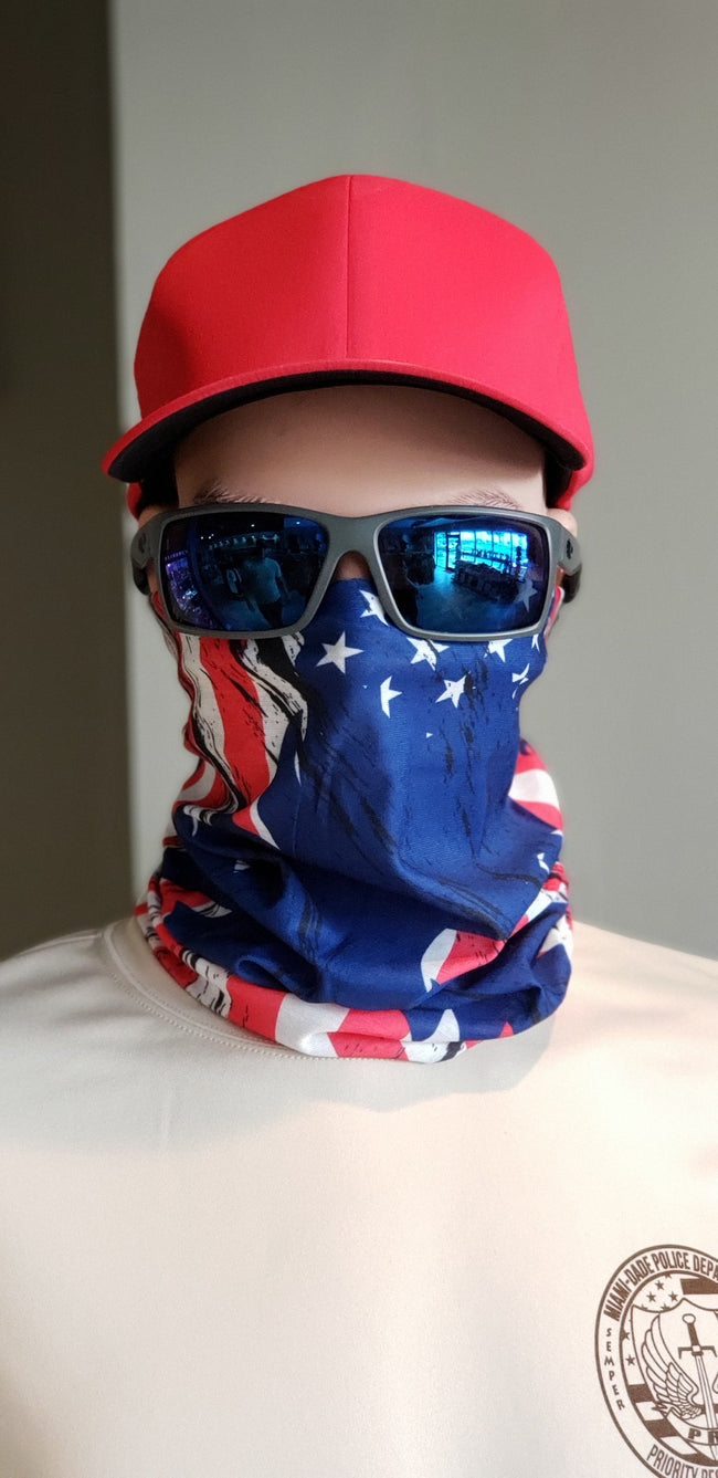 American Flag Face Shield