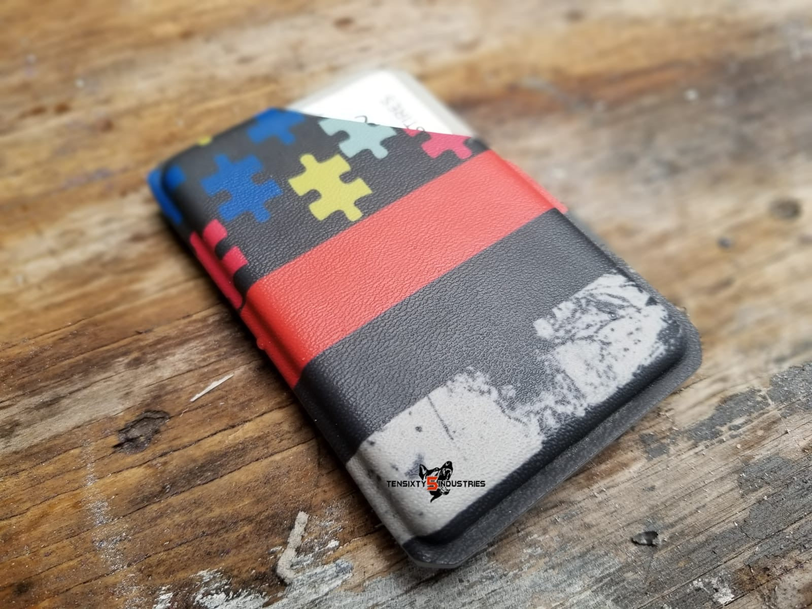UC Autism Awareness Kydex Wallet PRE SALE ONLY (3 WEEK TURN AROUND FROM PLACED ORDER)