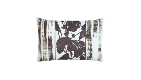Paintbrush - Rose Throw Lumbar Pillow Cover