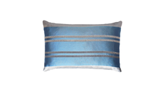 Ice Stripe Throw Pillow Cover