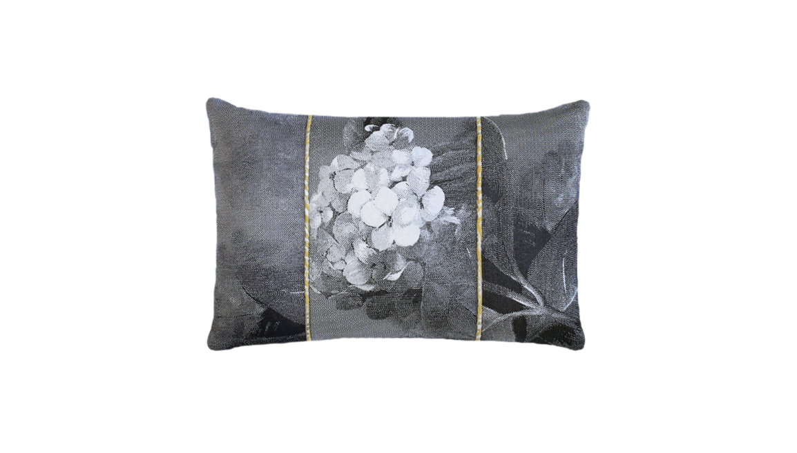 Paperwhites - Hydrangea Throw Lumbar Pillow Cover