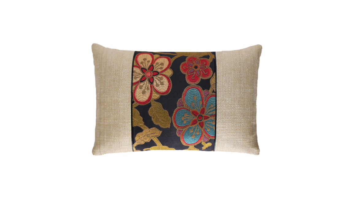Flowers Throw Pillow Cover
