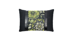 Noir Mums - Kermit Throw Lumbar Pillow Cover