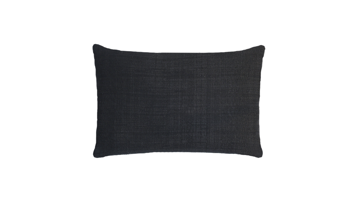 Noir Mums Throw Lumbar Pillow Cover