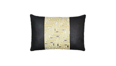 Noir Ray Throw Pillow Cover