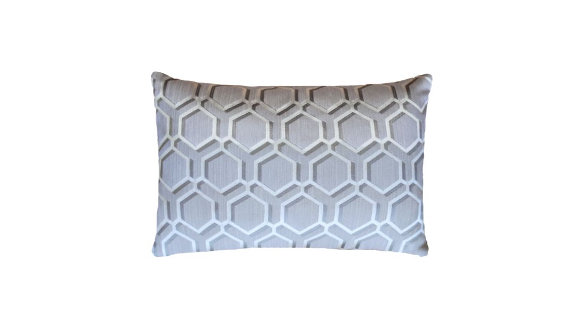 Sand Honeycomb Throw Pillow Cover