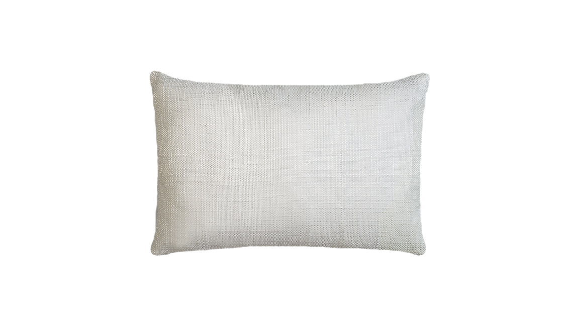 Winter Palm - Center Throw Pillow Cover