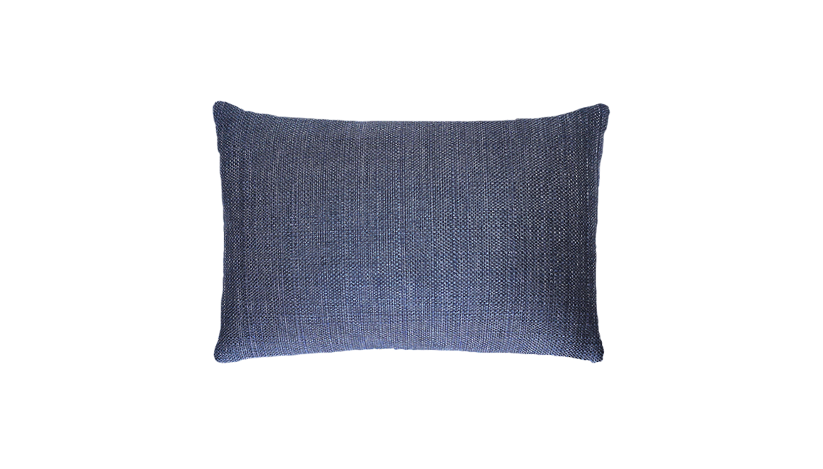 Navy Splash Throw Pillow Cover