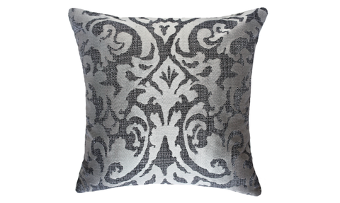 Sand Damask Throw Pillow Cover