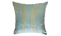 Ice Fern Throw Pillow Cover